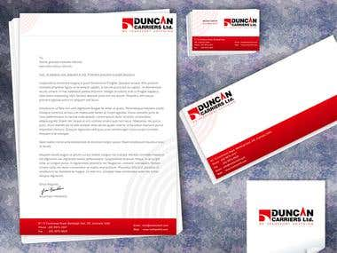 Duncan Carrier Ltd (Corporate Identity Kit)