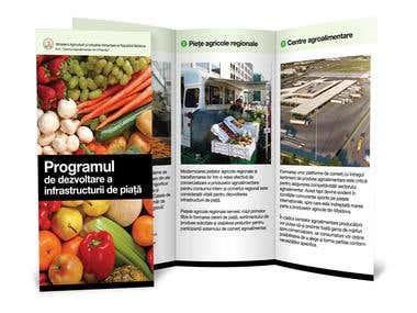 Centru Agroalimentar - Flyer design