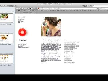 Website copy for Japanese-style catering (Berlin)