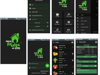 Fresh Fruits At Home - Android App