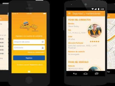 iPhone & Android for busing company