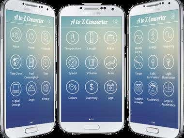 Android all in one unit converter app