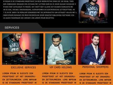 Responsive WordPress Website Mockup
