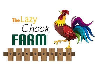The Lazy Chook Farm Logo