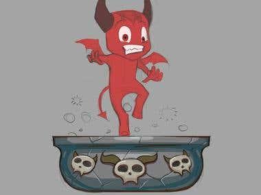 Cook the Devil