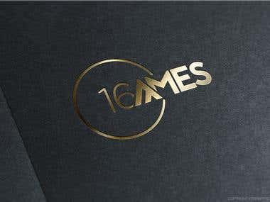 Logo Design for French DJ, 16\'Ames