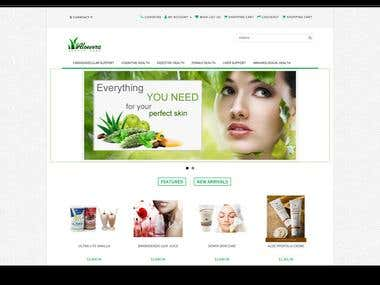 Aloevera Beauty Shop