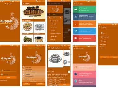 Navrang Handicraft - Android App