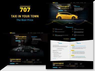 707 Taxi web site