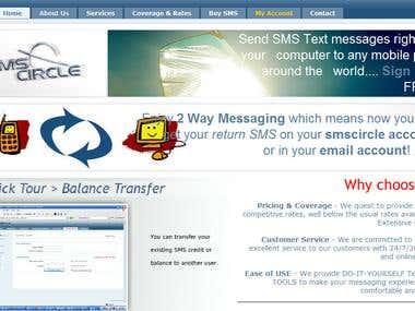 SMS Circle