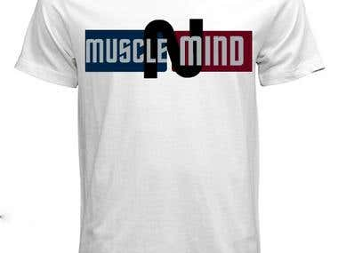 T shirt design for a gym