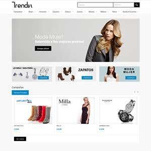 Spanish fashion Non-eCommerce platform