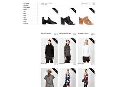 Hansen & Gretel Online Store