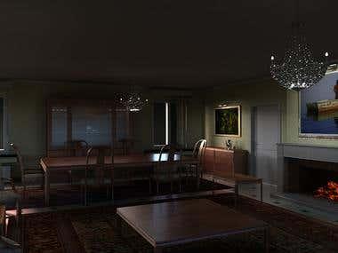 3D Studio Interior