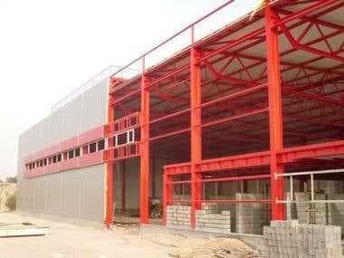 Sports hall (Misurata, Libya)