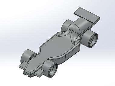Formula 1 Solidworks Model