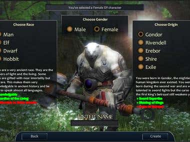 MMO Game Features Addition