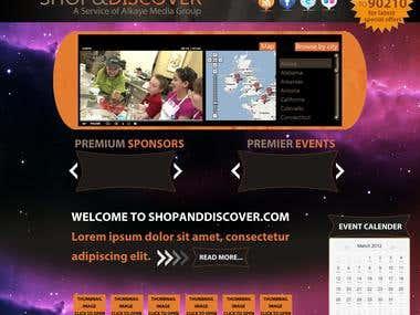 Custom HTML site
