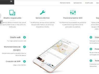 Pagina web Appexpres
