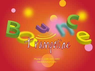 Trampoline Advertisement
