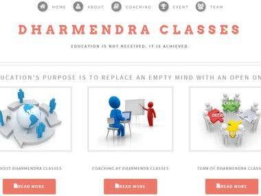 Dharmendra Classes, Tuition Classes in Rajkot, Coaching