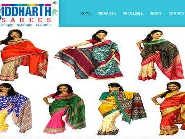 Siddharth Sarees, Manufacturers, Wholesalers, Exporters, Buy