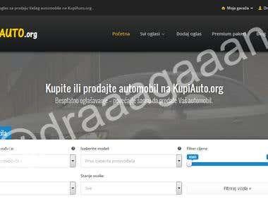 KupiAuto.org website