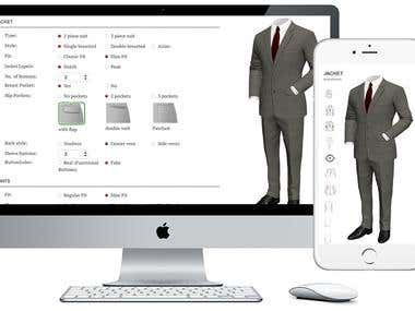 Custom Suiting .  WooCommerce Extension