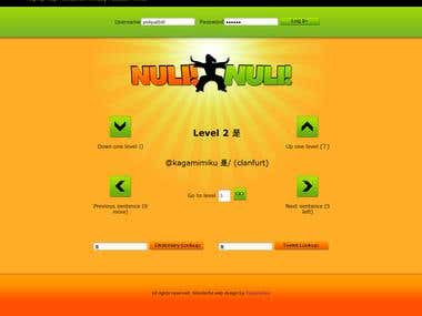 Nulli Nulli Chinese Self-Teaching Web Application