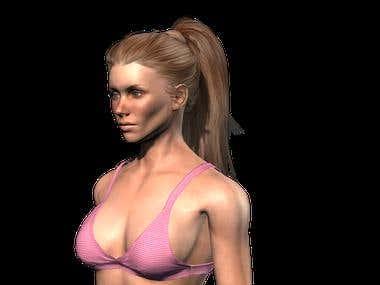 Female 3-D
