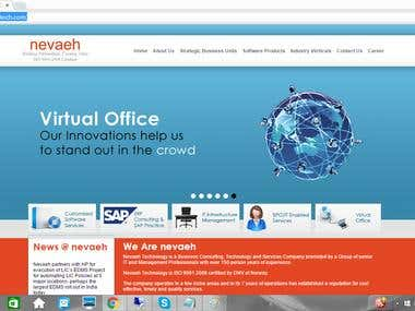 Company Information site