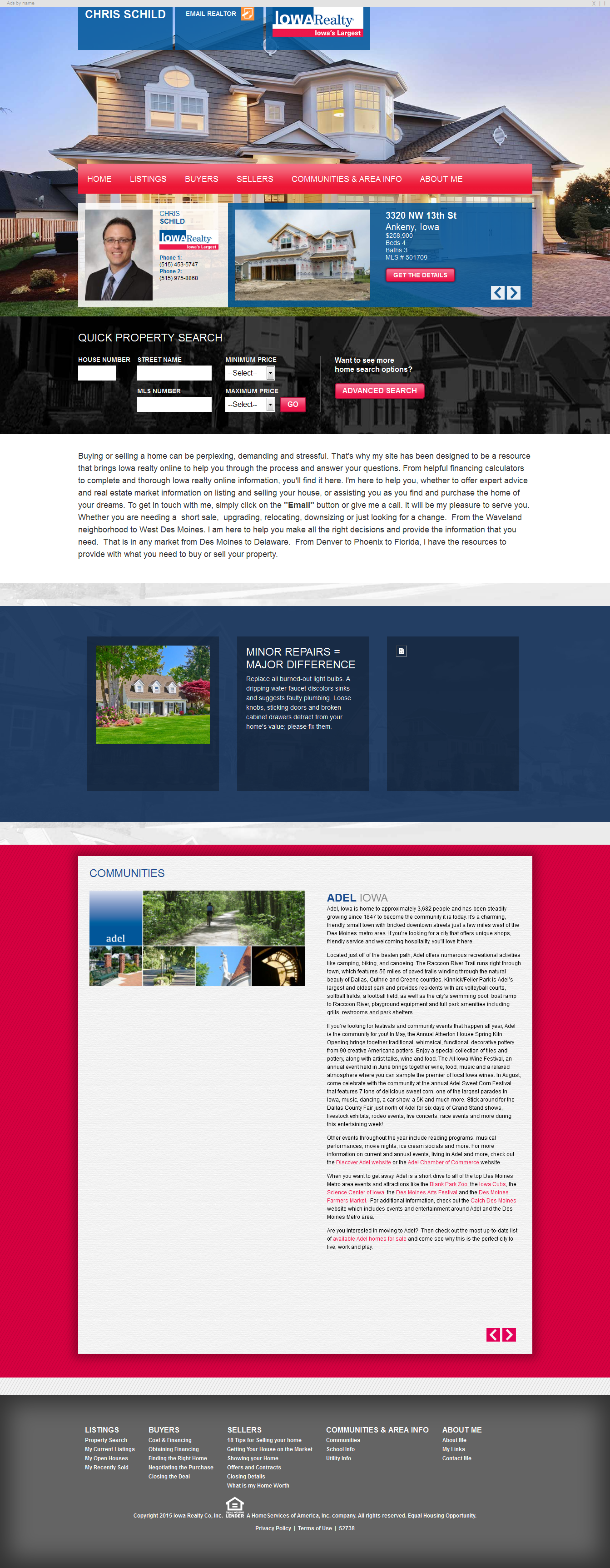 HTML Responsive - Home Selling Site