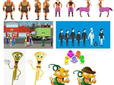 2D Characters