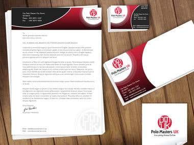 Polo Masters UK (Corporate Identity Kit)