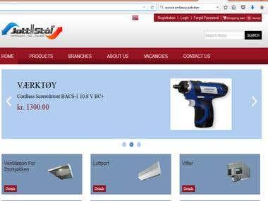 Ecommerece  website