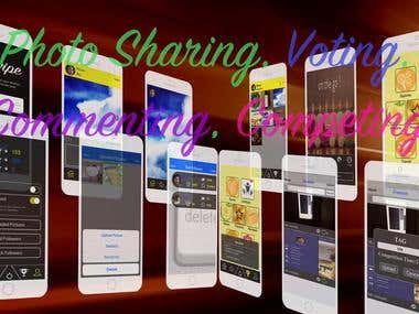 Photo Sharing App for iPhone