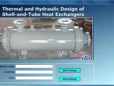 Heat Exchanger Software