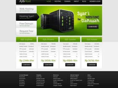AjibHost HTML