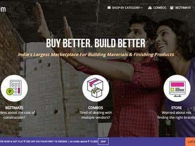 Buildzar.com - (A complete magento store )
