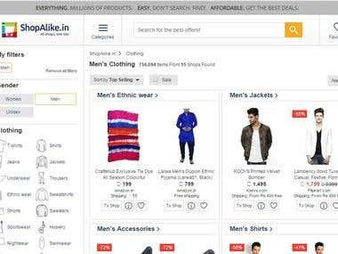 ecommrce website india