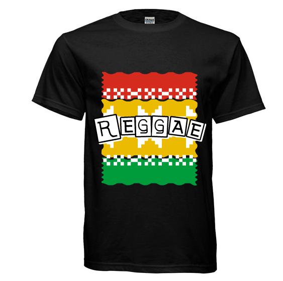 T shirt design - REGGAE