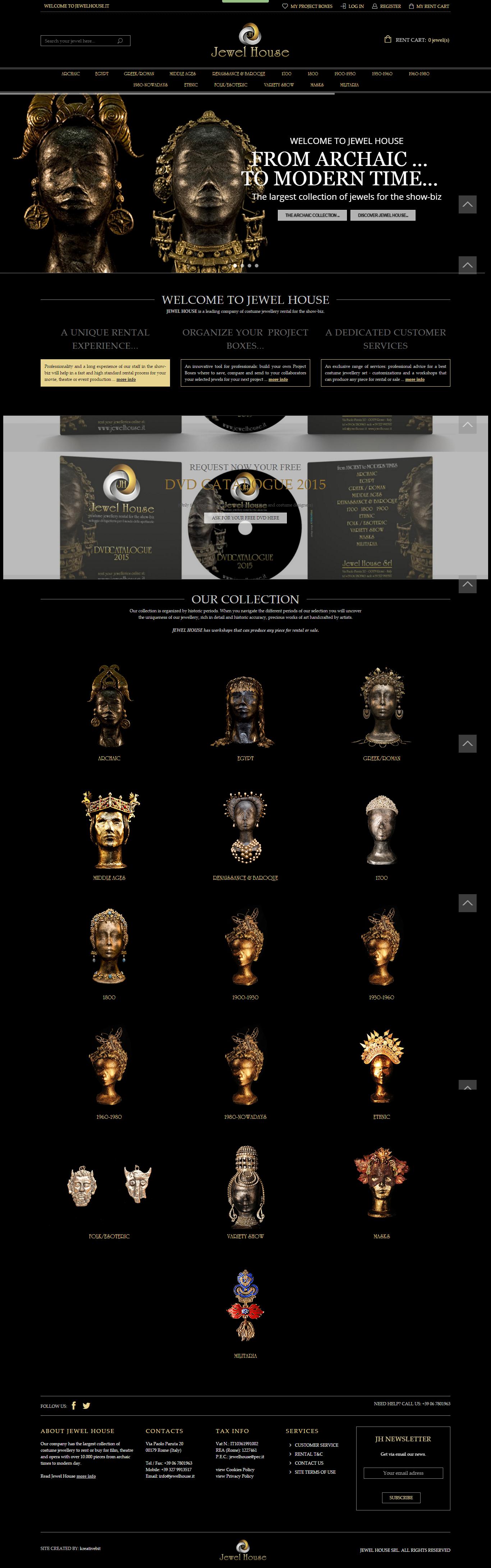 Jewellery Shop ( MAGENTO )