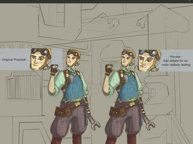 Character Concept for Australian Animation Project