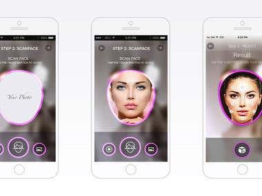 Blemish Detecting app