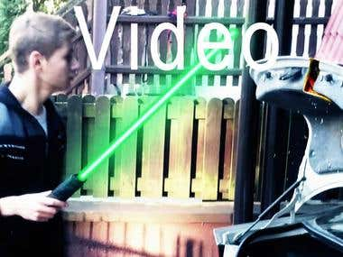 (YouTube URL)Lightsaber Fail