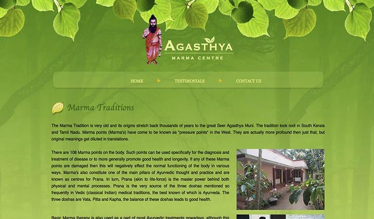 Agasthya Marma Centre