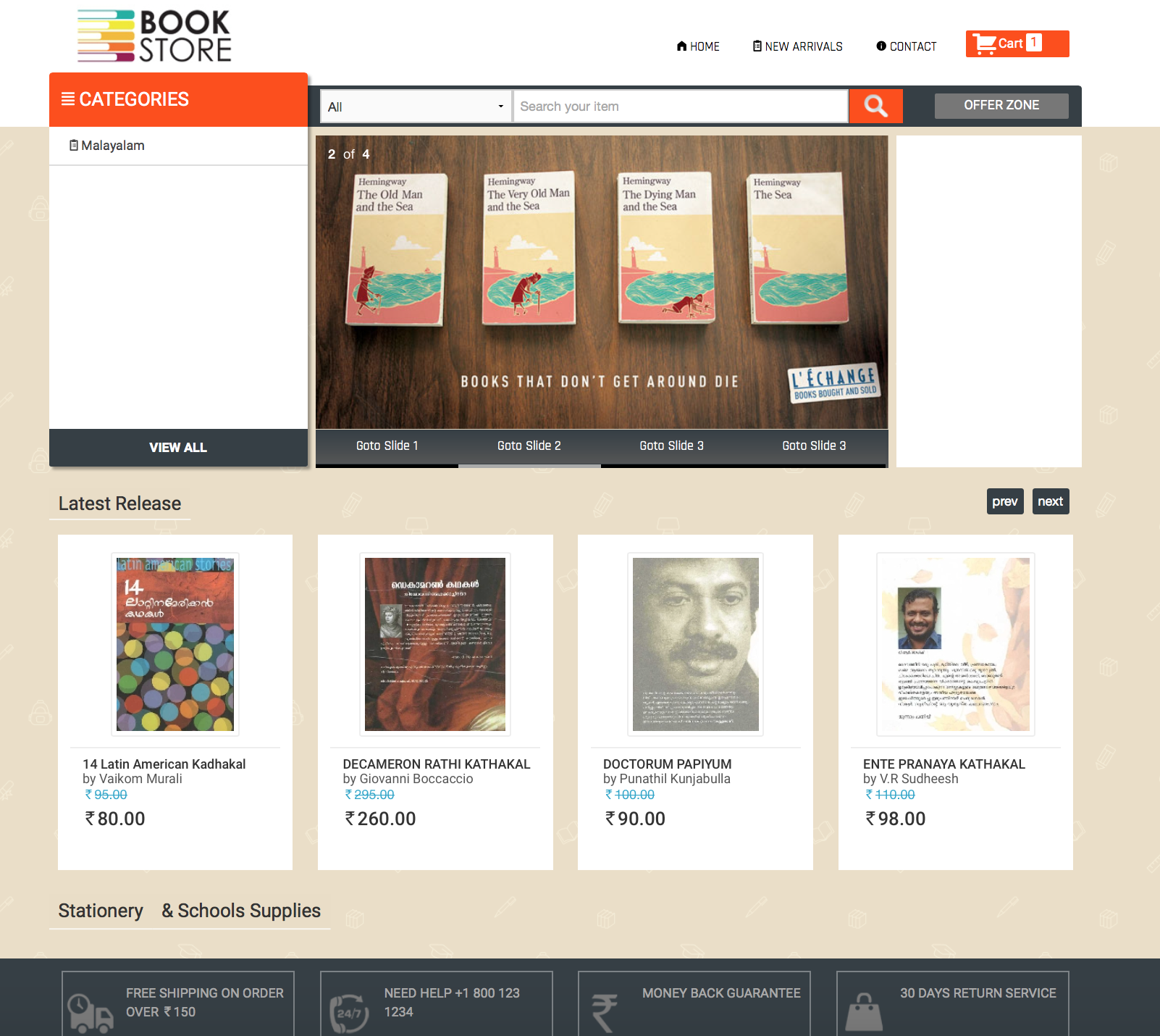 Book Shop On Net