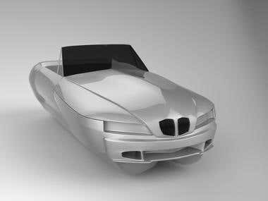 BMW Z3 Boat Modeling.....