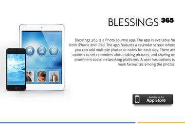 Blessings 365  APP