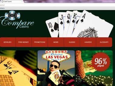 Compare Casino website